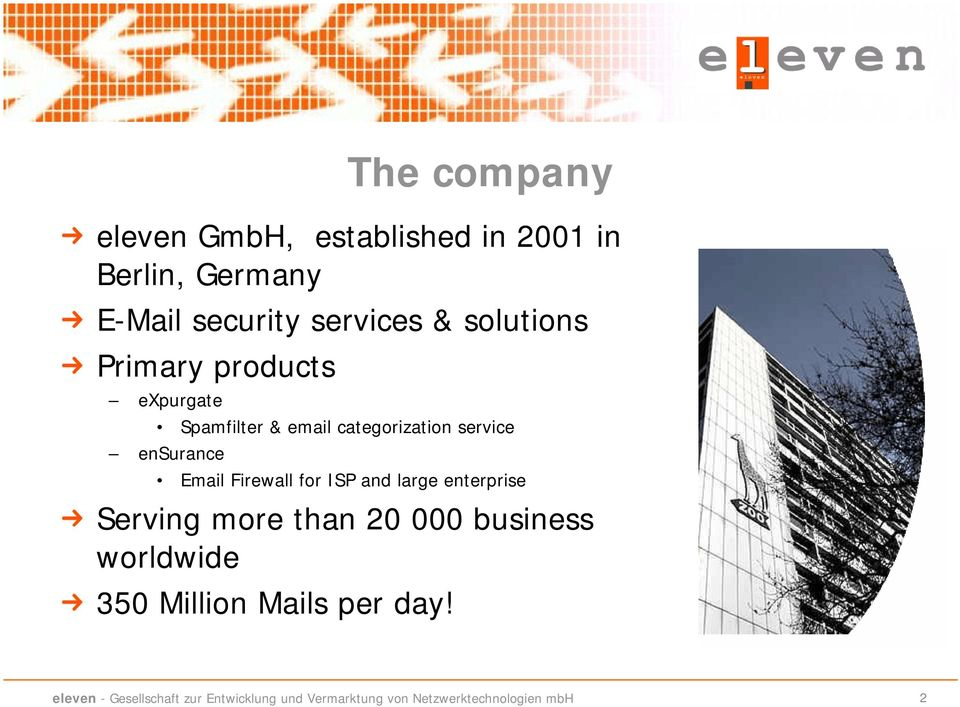 email categorization service ensurance Email Firewall for ISP and large