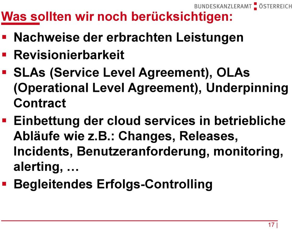 Underpinning Contract Einbe