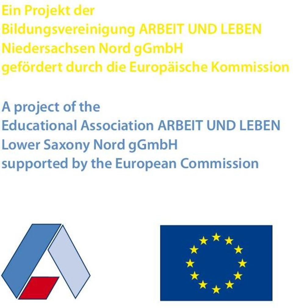 Kommission A project of the Educational Association ARBEIT