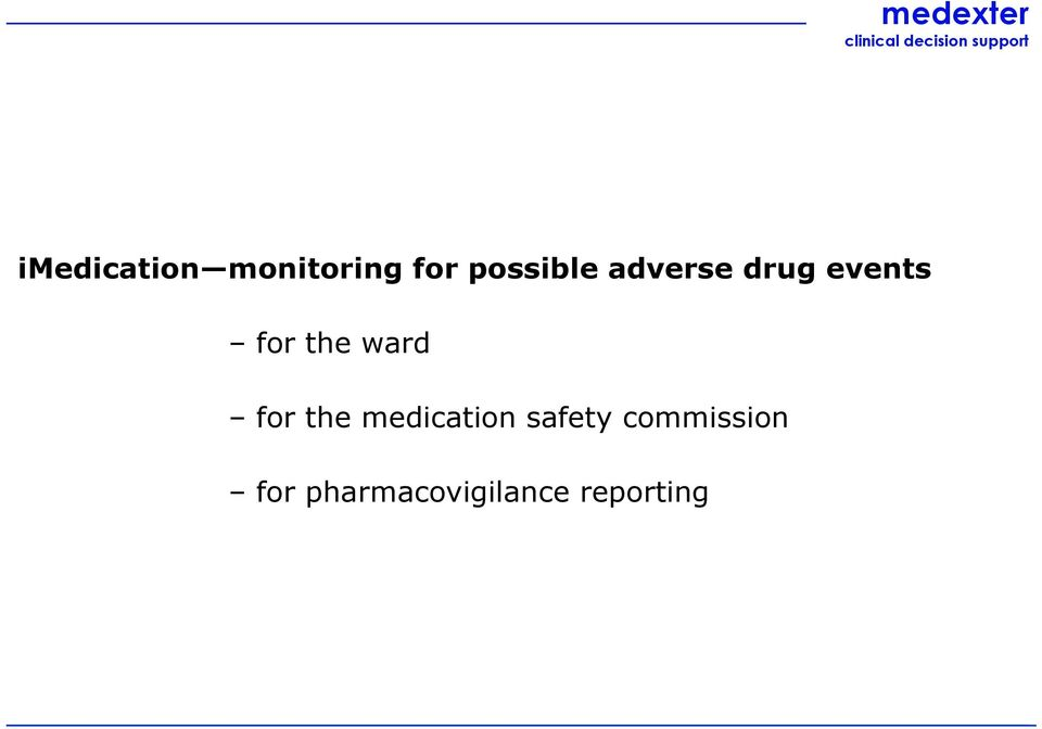 the ward for the medication safety