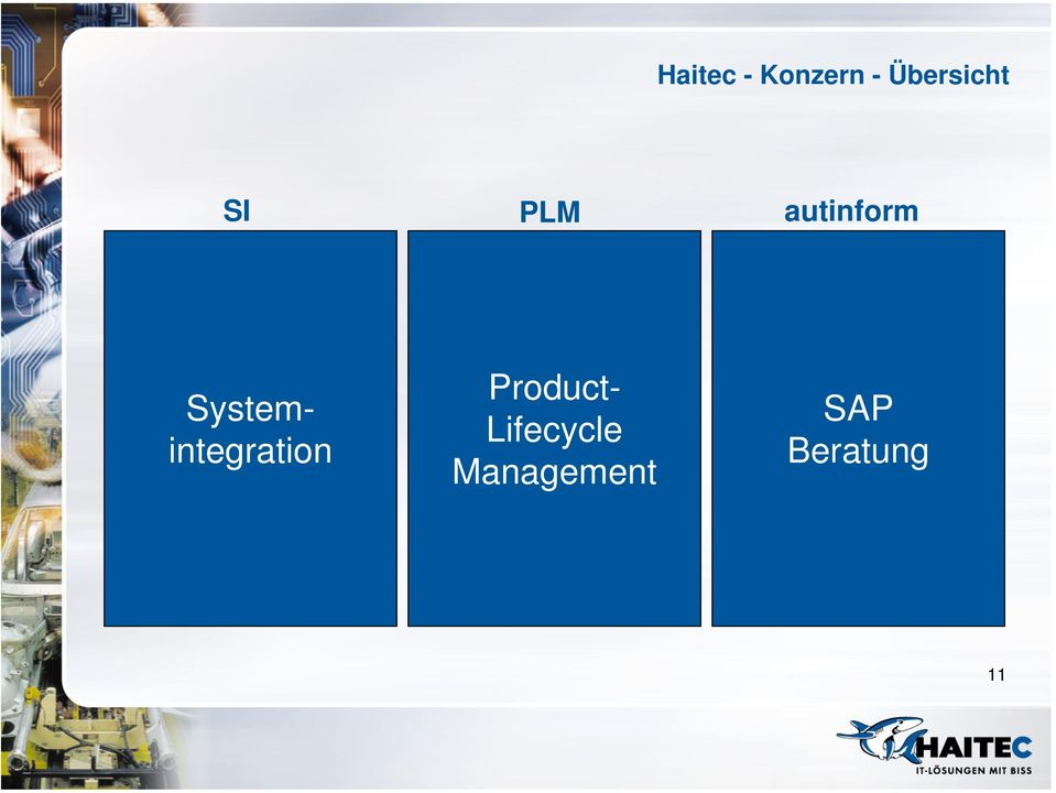 Systemintegration Product-