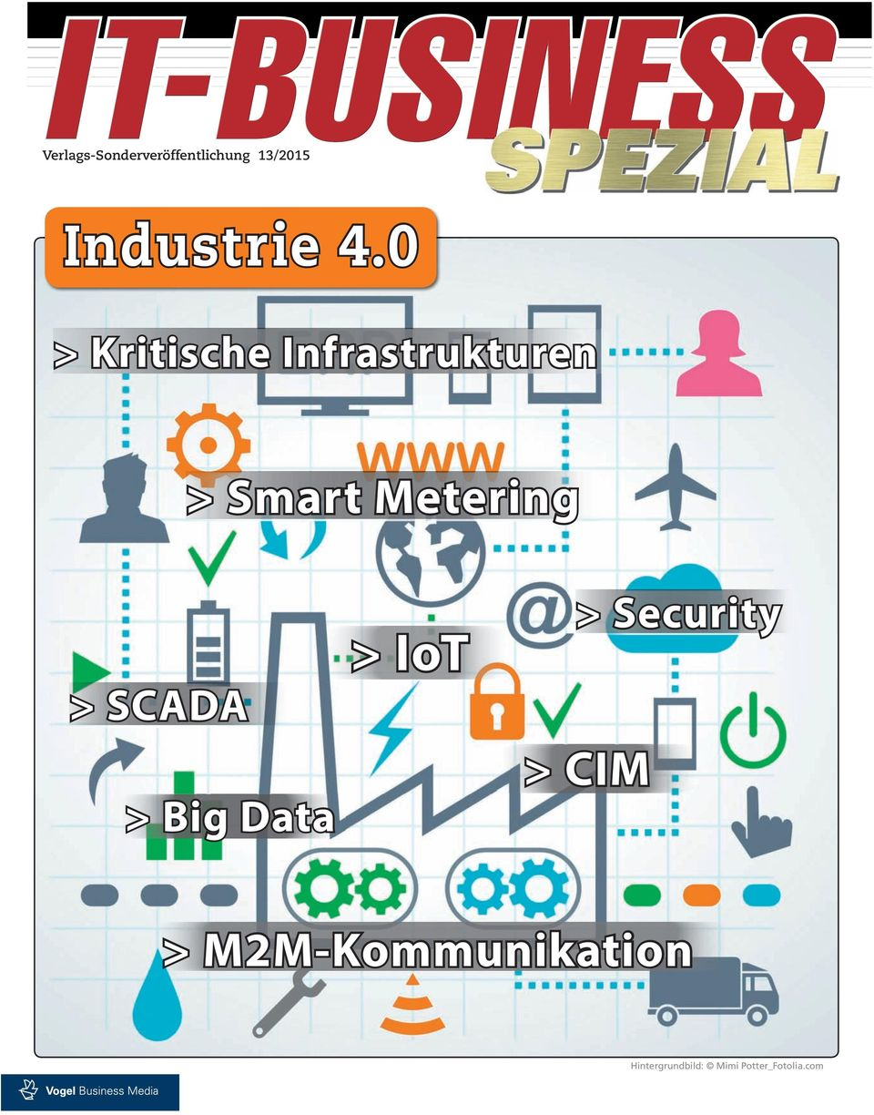 > SCADA > Big Data > IoT > Security > CIM >