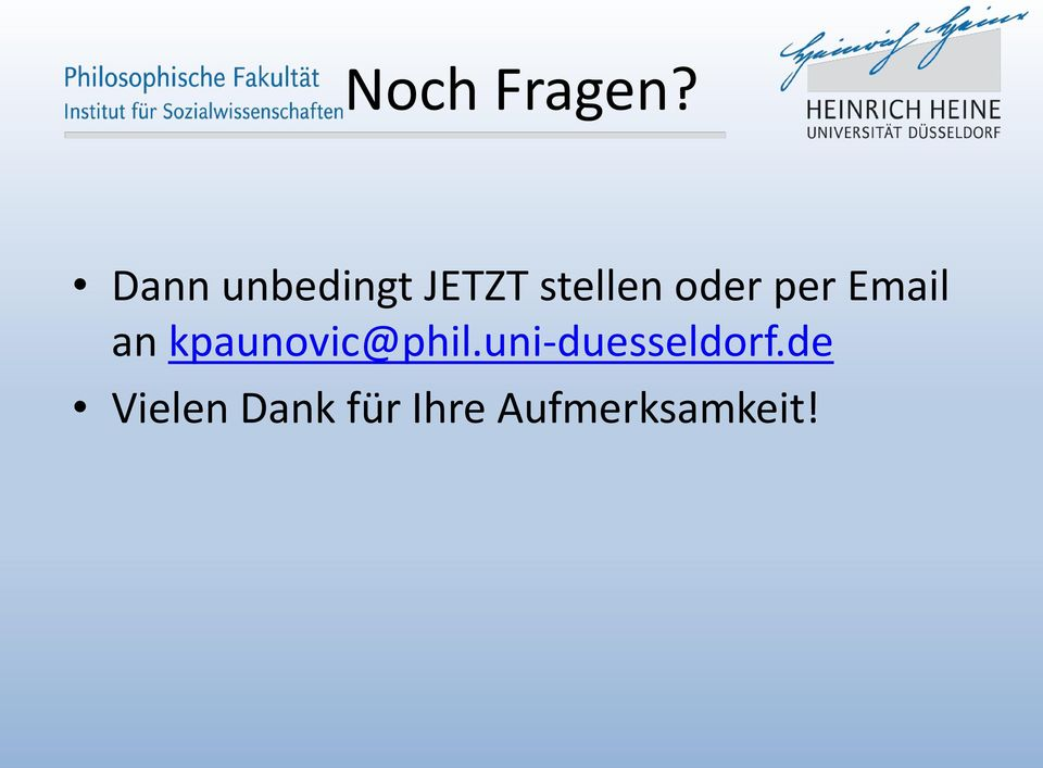 oder per Email an kpaunovic@phil.