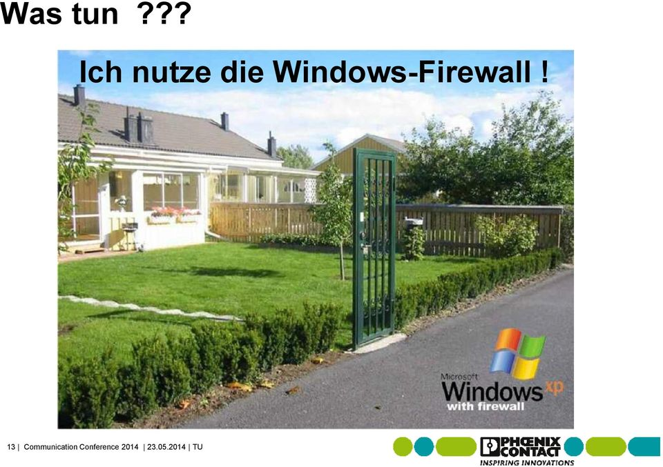 Windows-Firewall!