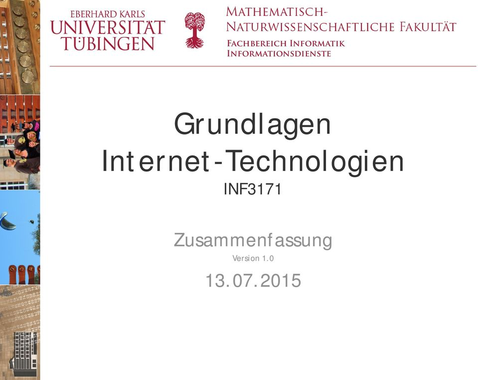 Internet-Technologien INF3171