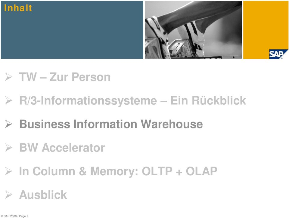 Business Information Warehouse BW