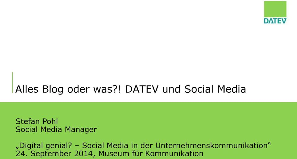 Media Manager Digital genial?