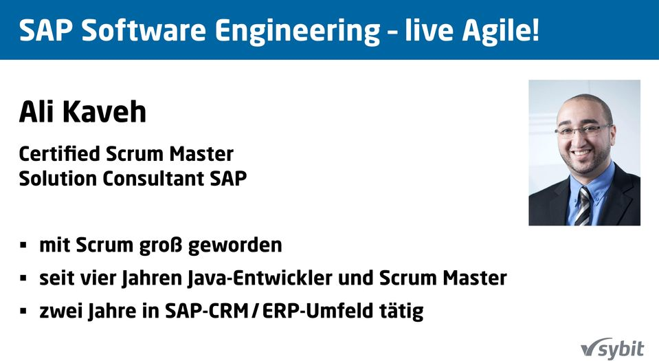 Certified Scrum Master Solution Consultant SAP mit Scrum groß