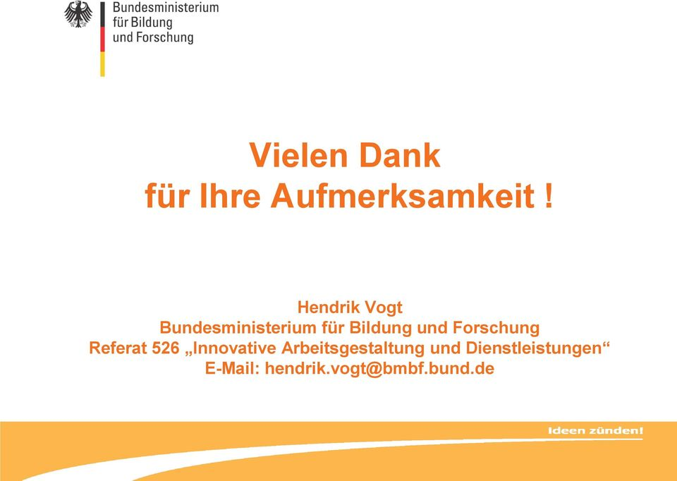 Forschung Referat 526 Innovative