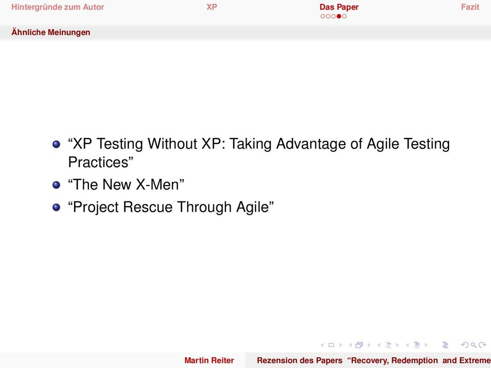 Agile Testing Practices The New