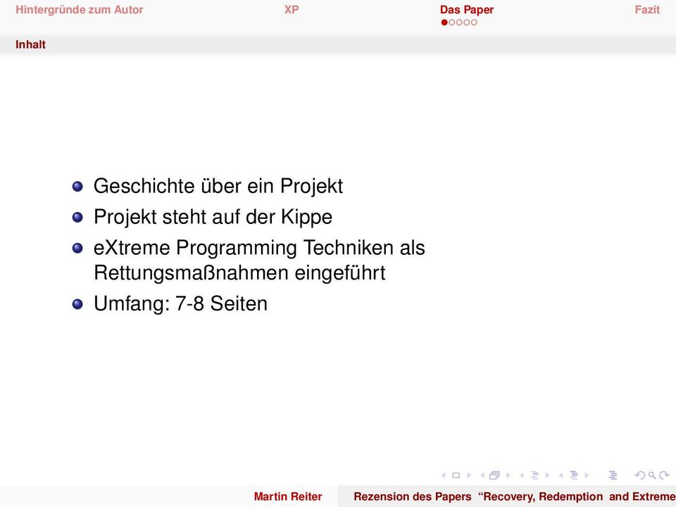 Programming Techniken als
