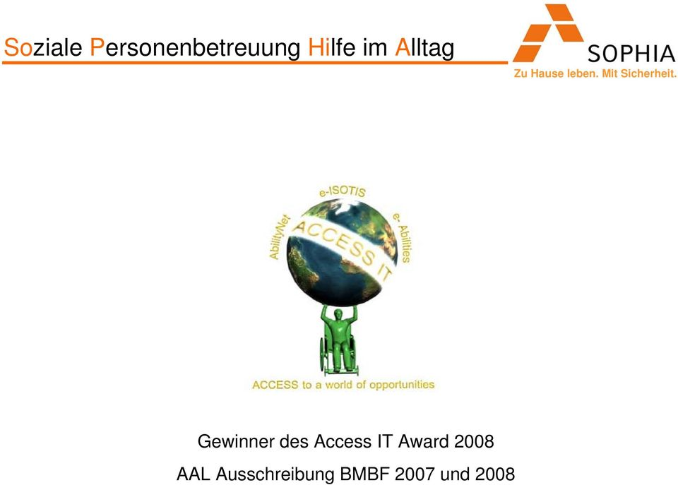 des Access IT Award 2008