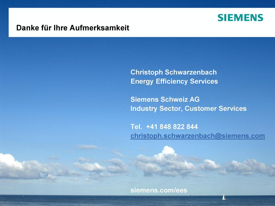 Schweiz AG Industry Sector, Customer Services Tel.