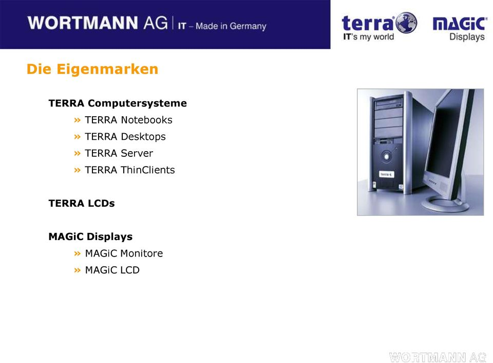 Server» TERRA ThinClients TERRA LCDs