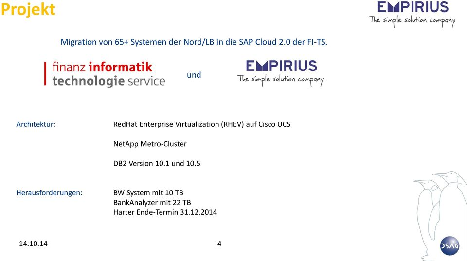und Architektur: RedHat Enterprise Virtualization (RHEV) auf Cisco UCS