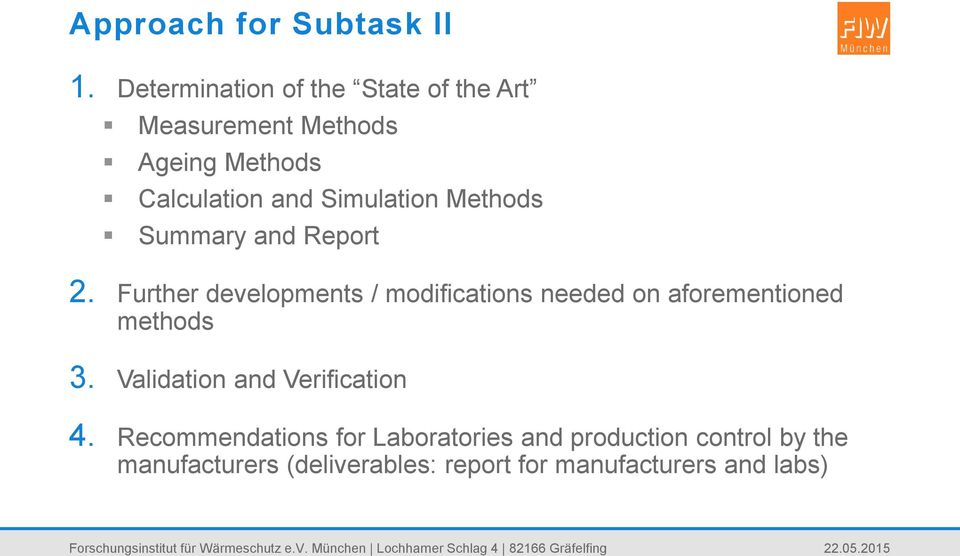 Simulation Methods Summary and Report 2.