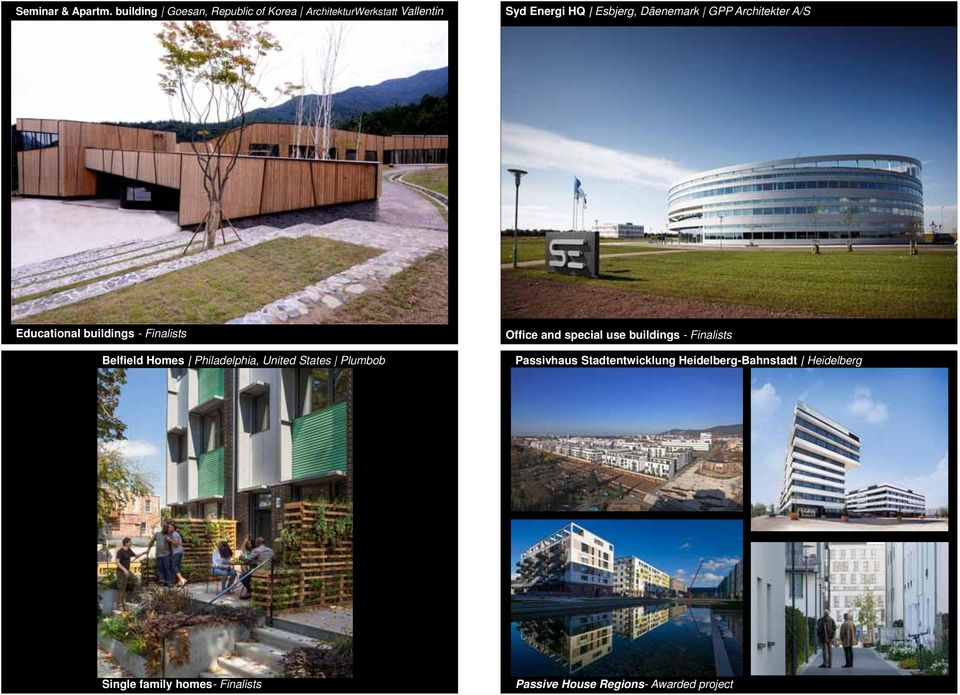 GPP Architekter A/S Educational buildings - Finalists Belfield Homes Philadelphia, United States