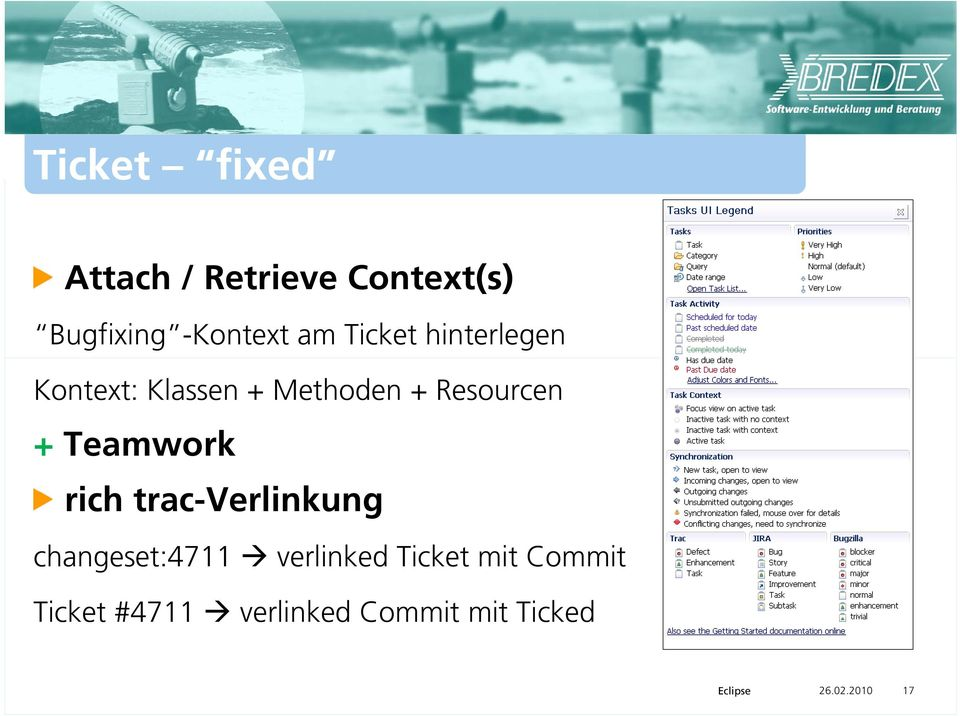 Teamwork rich trac-verlinkung changeset:4711 verlinked Ticket
