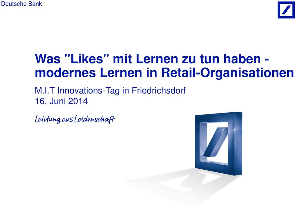 Retail-Organisationen M.I.