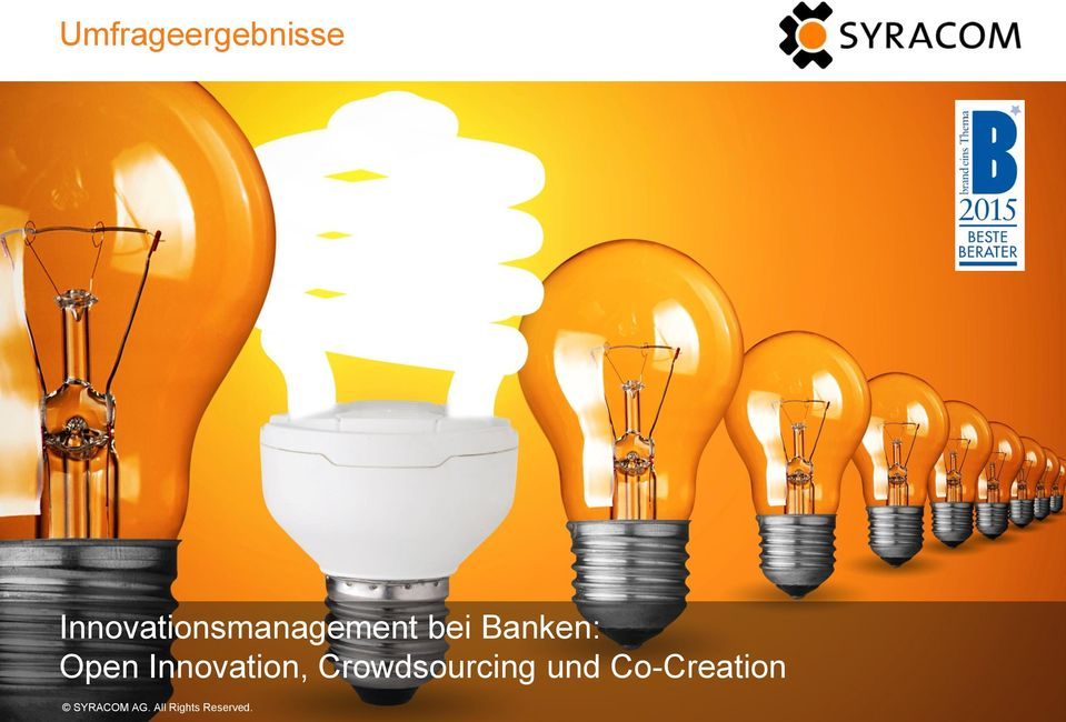 Innovation, Crowdsourcing und