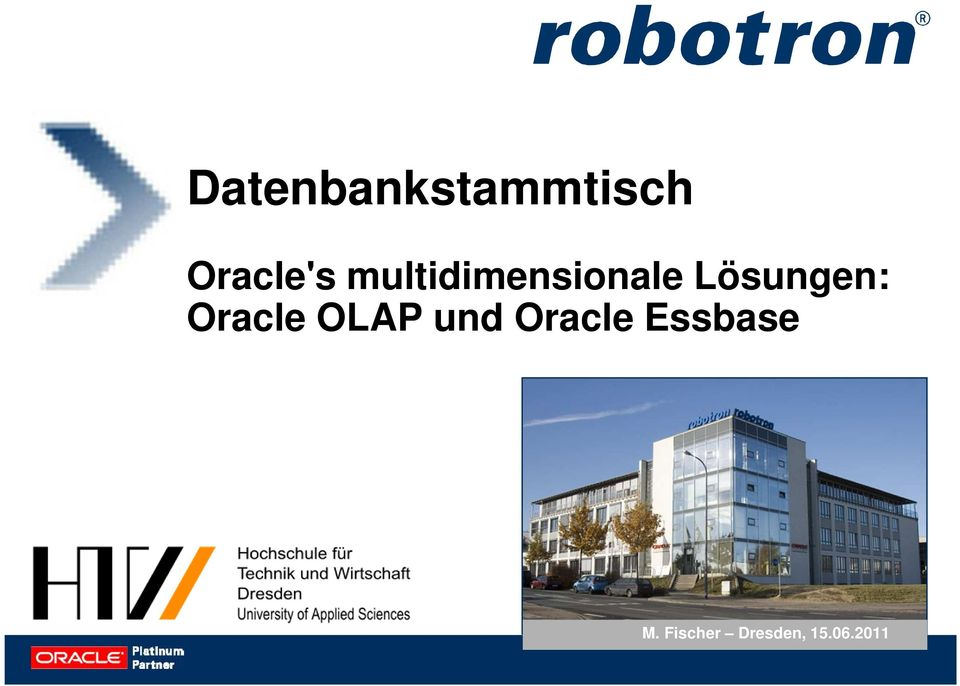 Oracle OLAP und Oracle