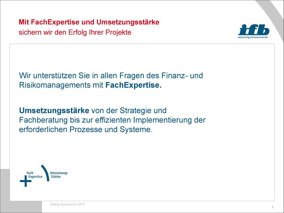 Risikomanagements mit FachExpertise.