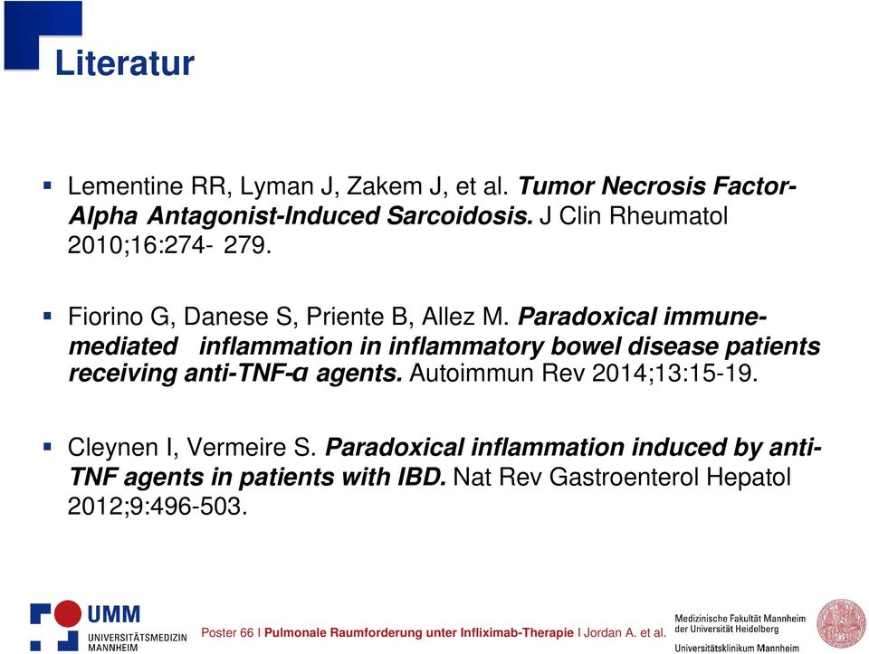 Paradoxical immunemediated inflammation in inflammatory bowel disease patients receiving anti-tnf-α agents.