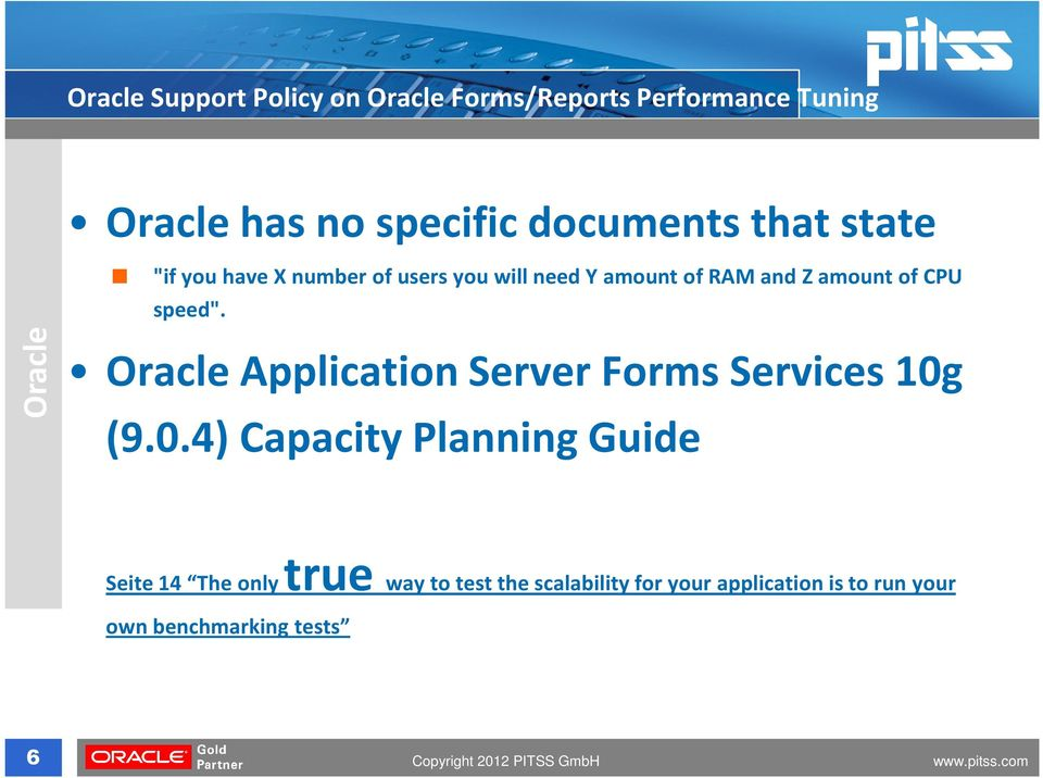 "speed"". Oracle Oracle Application Server Forms Services 10g"