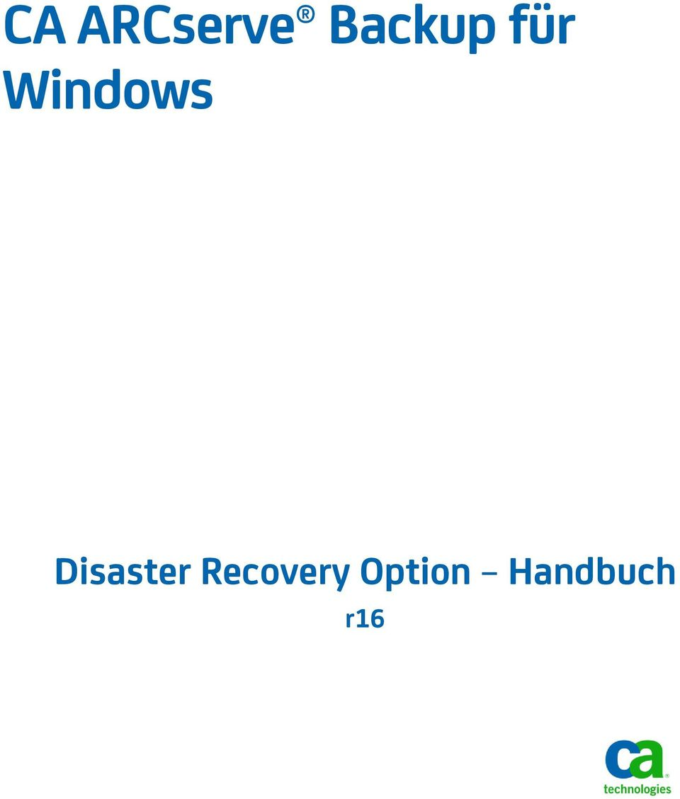 Windows Disaster