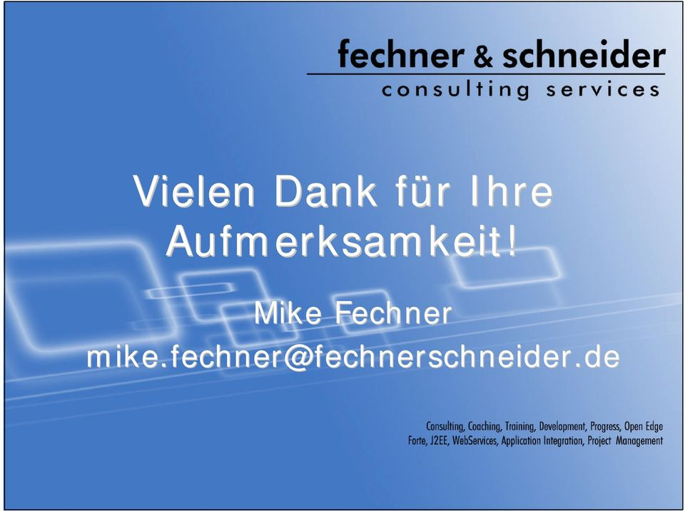 Mike Fechner mike.