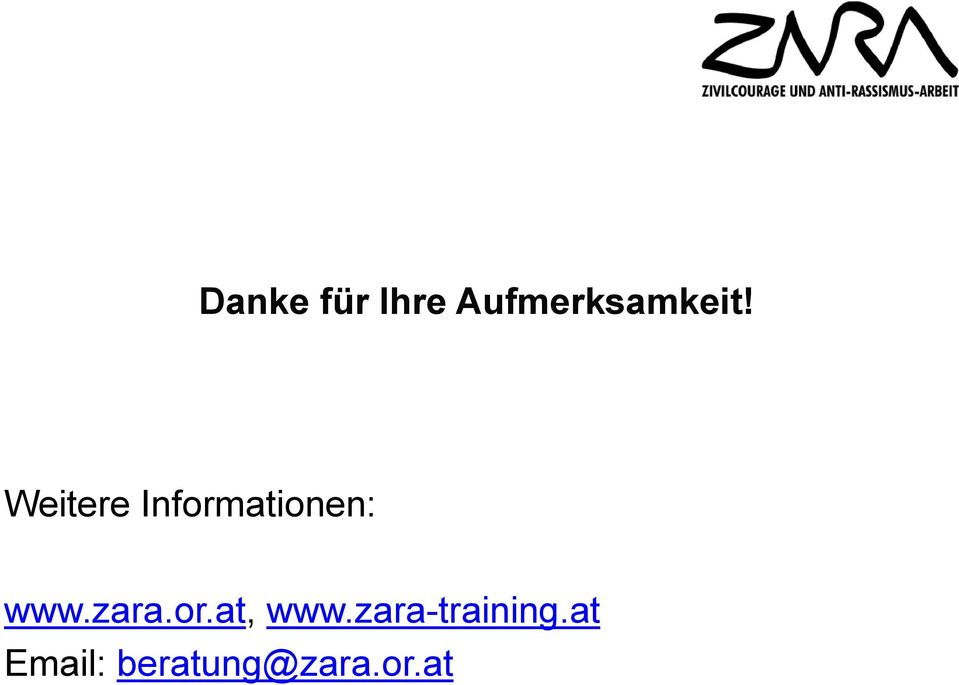 zara.or.at, www.zara-training.