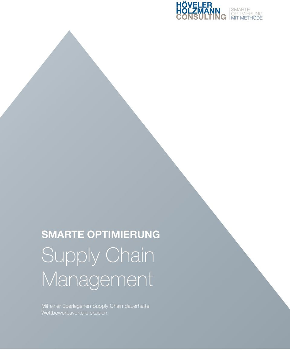 überlegenen Supply Chain