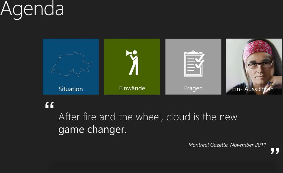 wheel, cloud is the new game