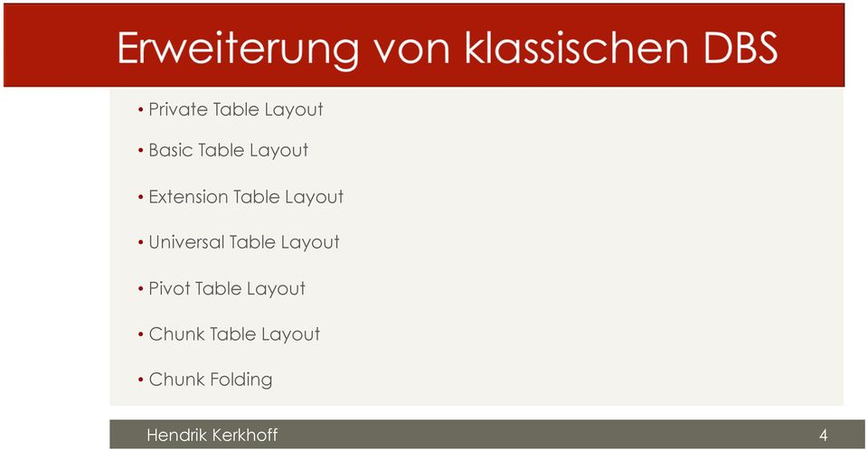 Universal Table Layout Pivot Table