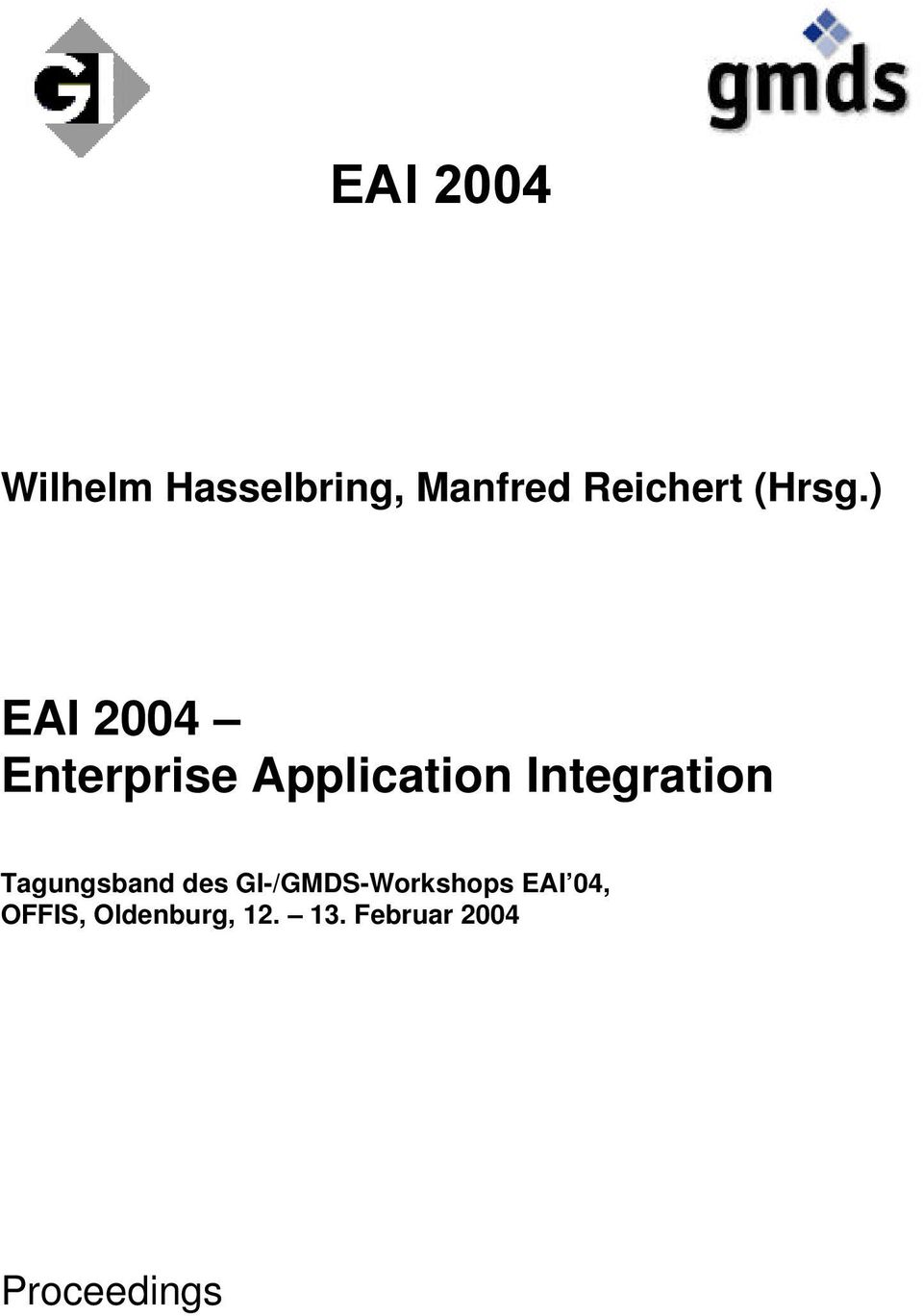 ) EAI 2004 Enterprise Application Integration