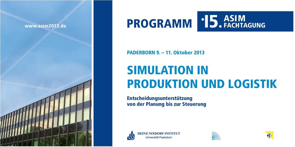 11. Oktober 2013 SIMULATION IN PROUKTION