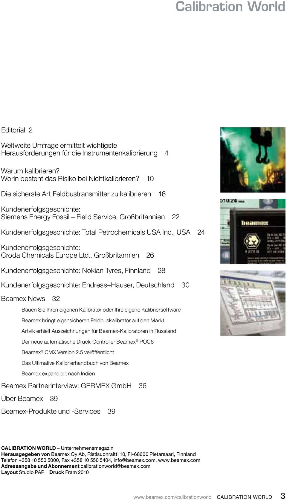 , USA 24 Kundenerfolgsgeschichte: Croda Chemicals Europe Ltd.