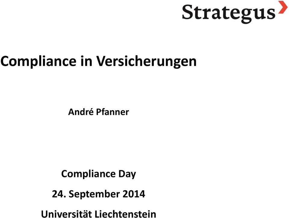 Pfanner Compliance Day 24.