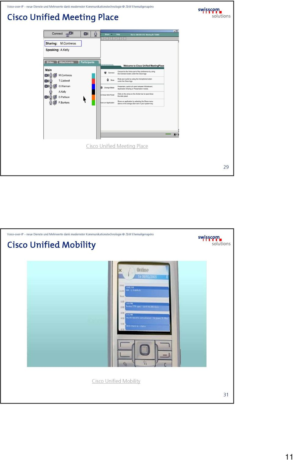 Cisco Unified Mobility 31