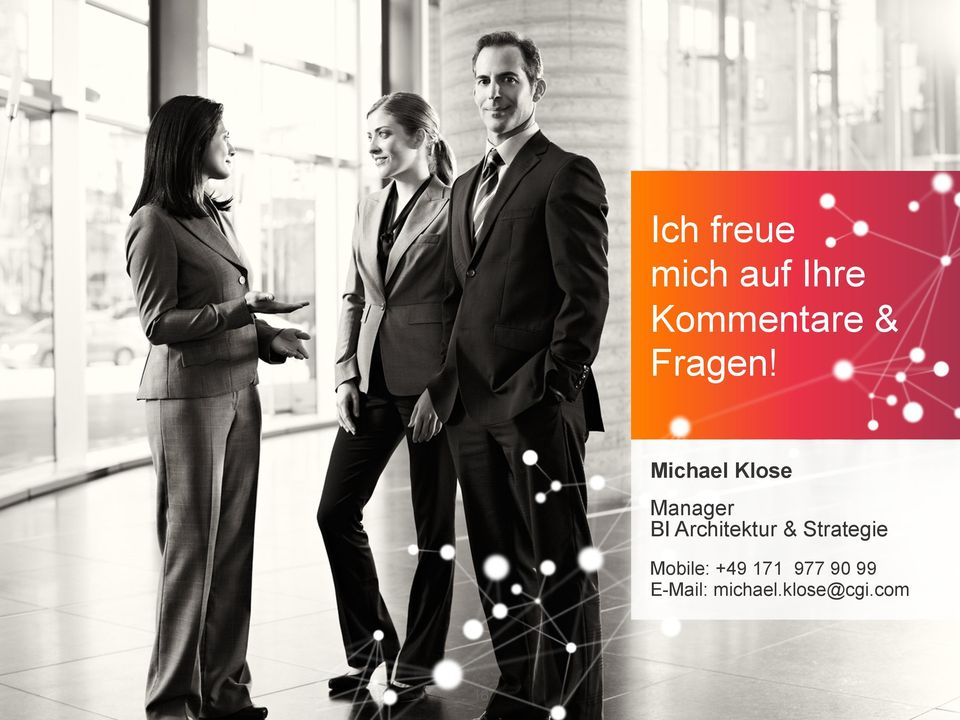 Michael Klose Manager BI Architektur