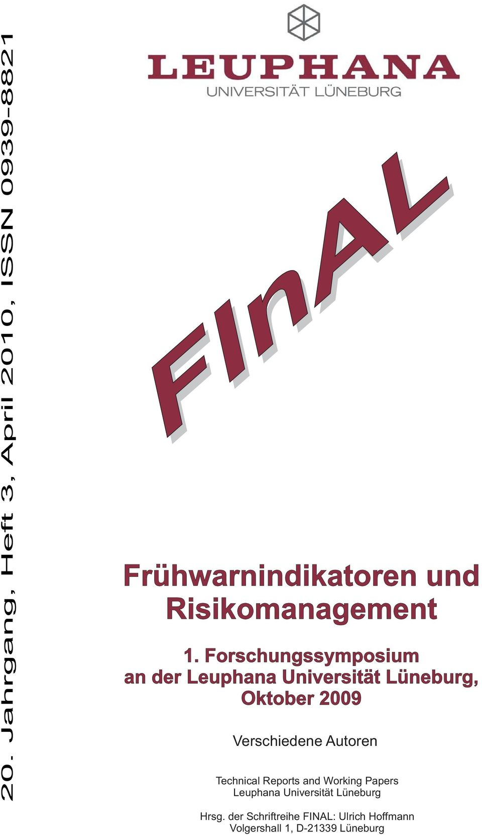 Risikomanagement 1.
