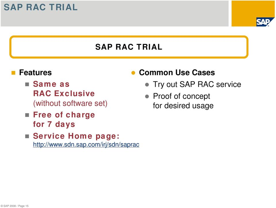 page: http://www.sdn.sap.