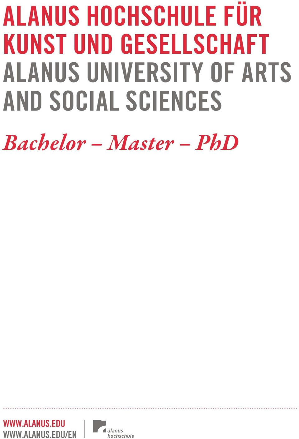Arts And social sciences Bachelor
