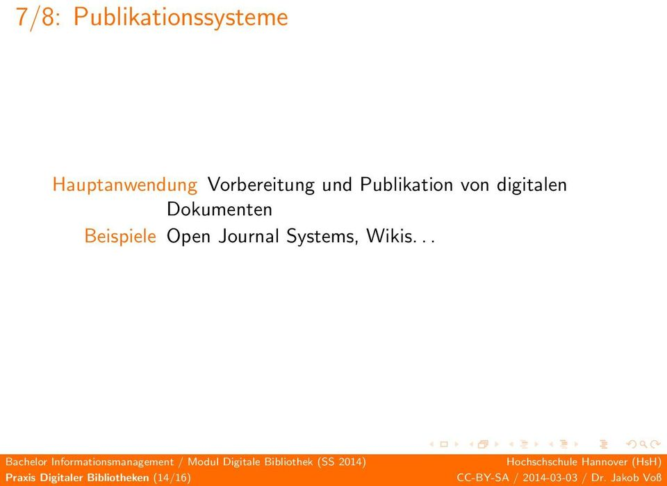 Dokumenten Beispiele Open Journal Systems,