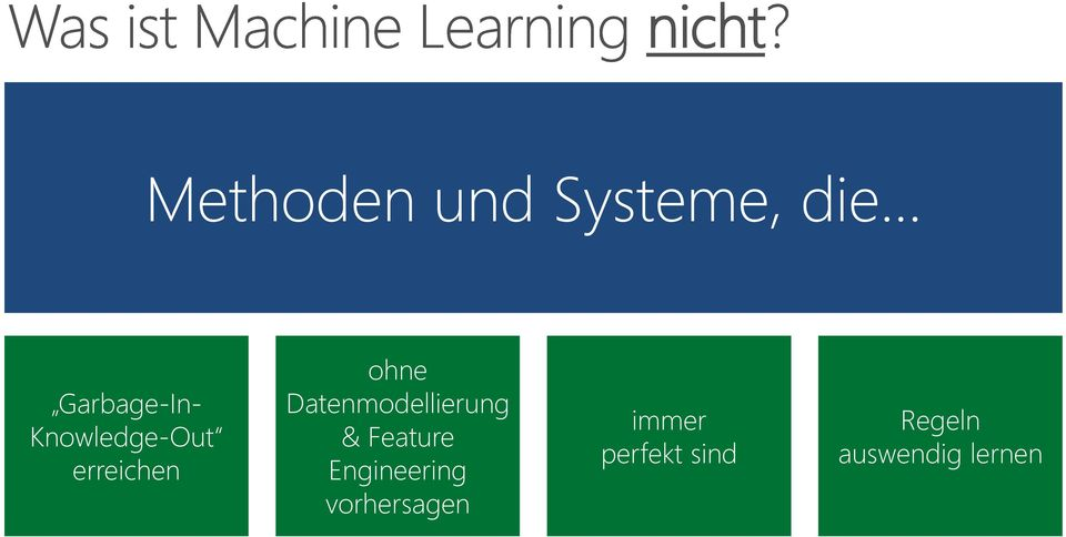 Datenmodellierung & Feature Engineering