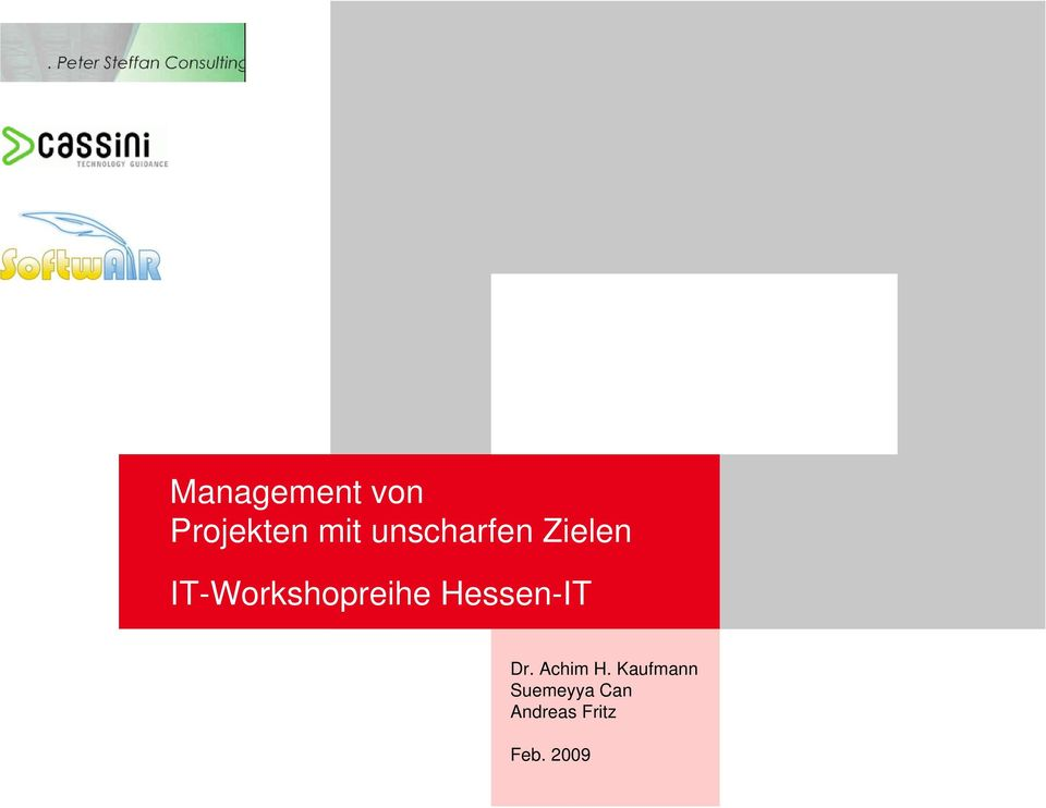 IT-Workshopreihe Hessen-IT Dr.