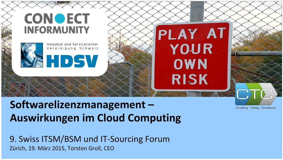 Swiss ITSM/BSM und IT Sourcing