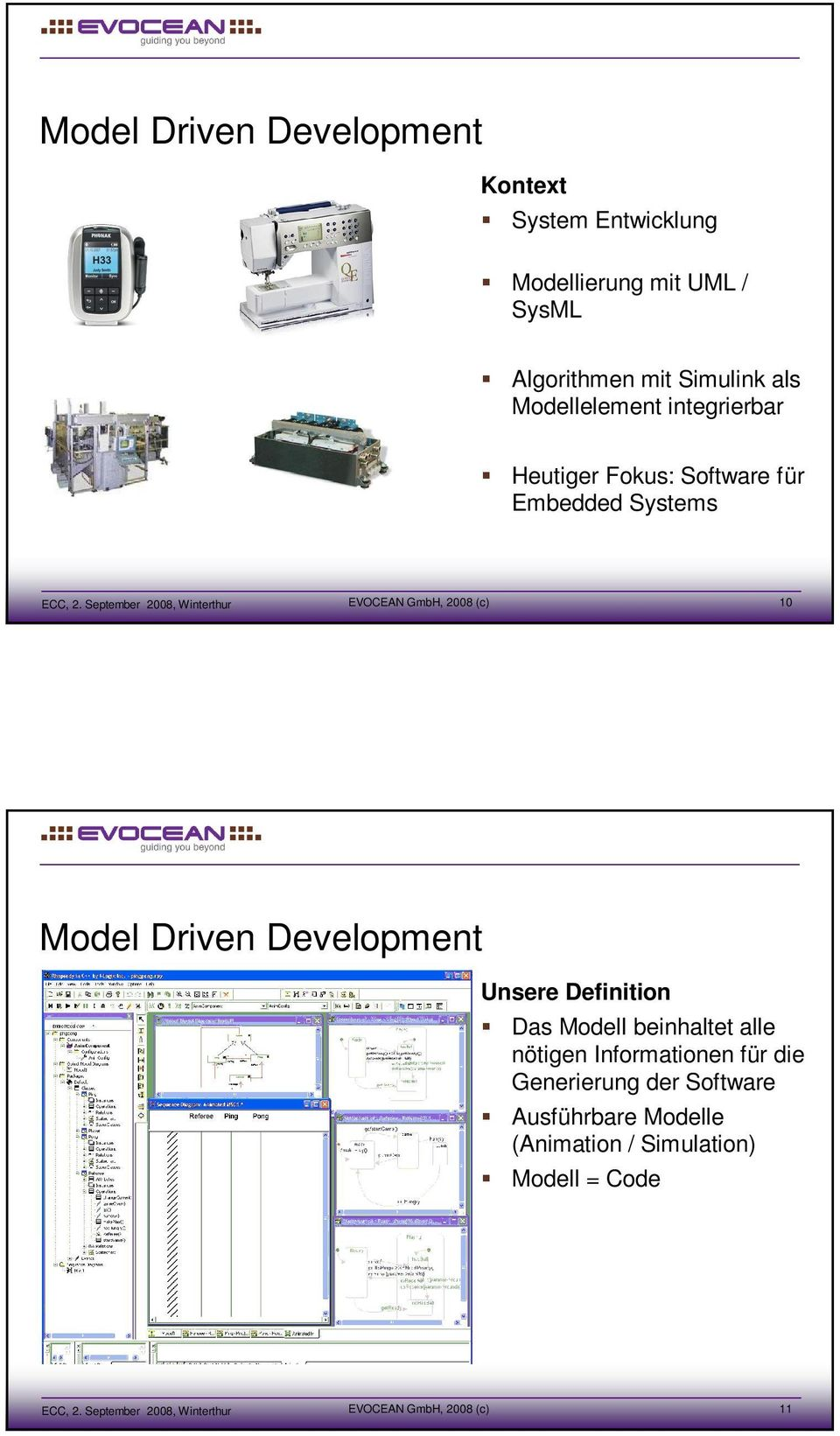Model Driven Development Unsere Definition Das Modell beinhaltet alle nötigen Informationen