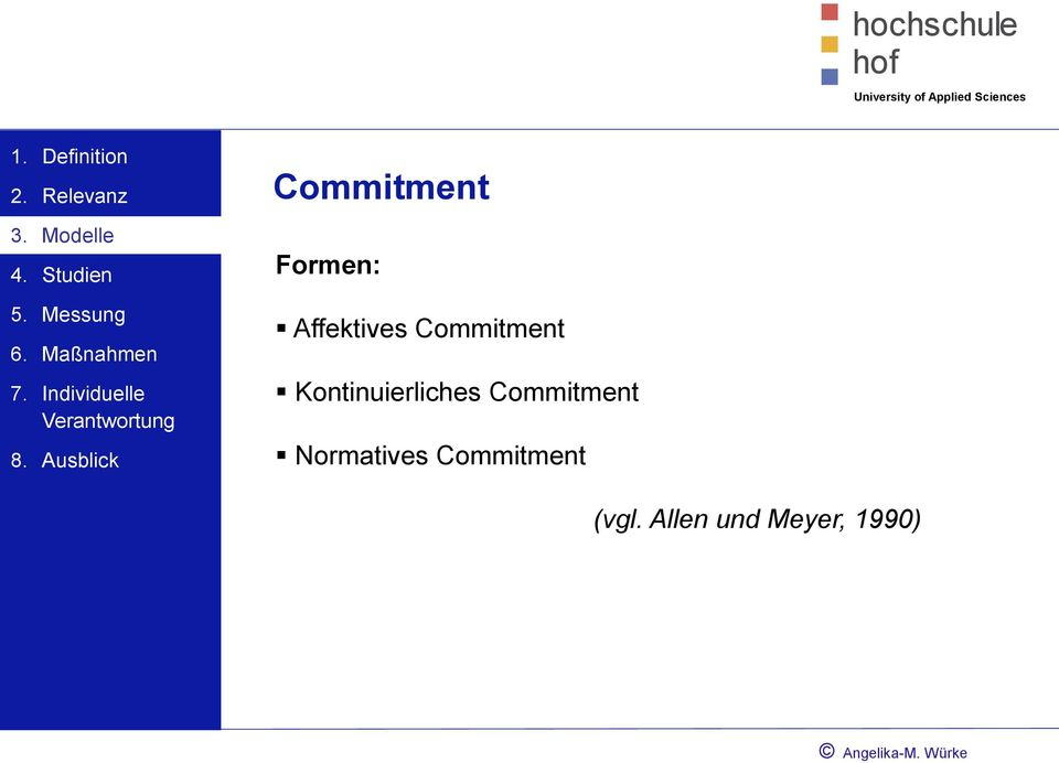 Commitment Normatives