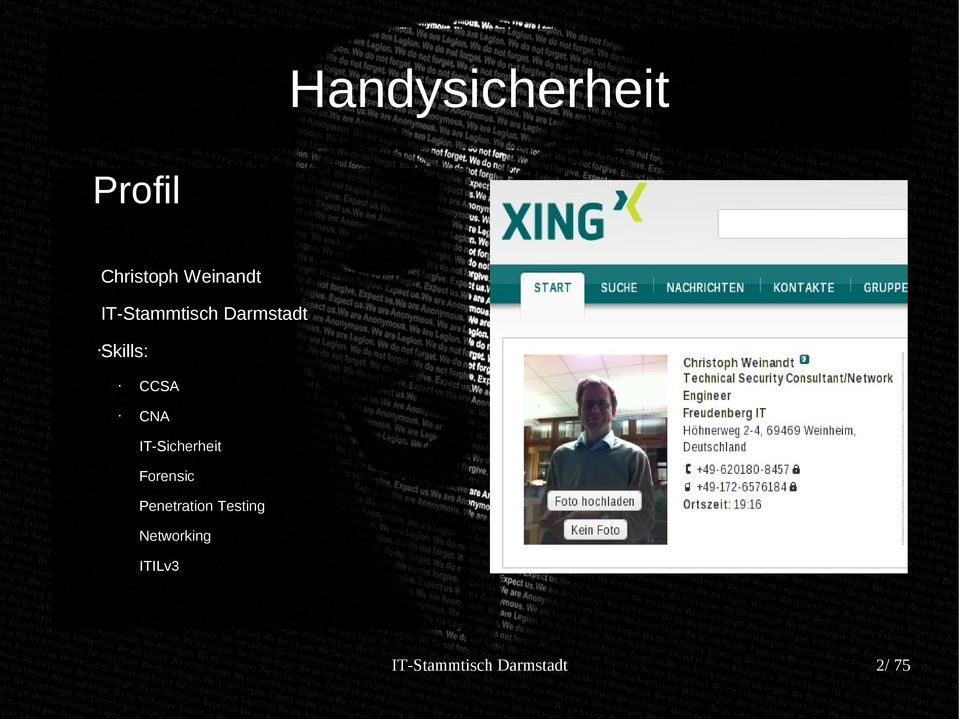 CNA IT-Sicherheit Forensic